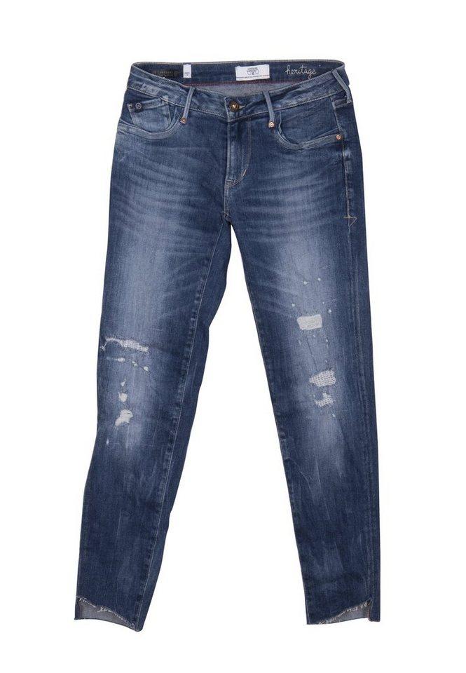 Herren Le Temps Des Cerises  Jeans im Used-Look blau | 03607813544423