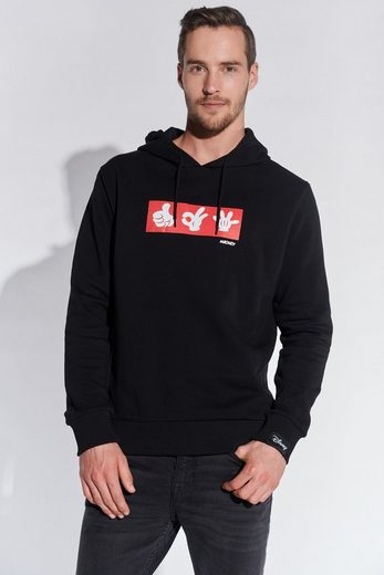COURSE Hoodie Mickey Mouse Print