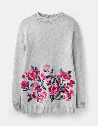 Tom Joule Pullover mit hübscher Stickerei