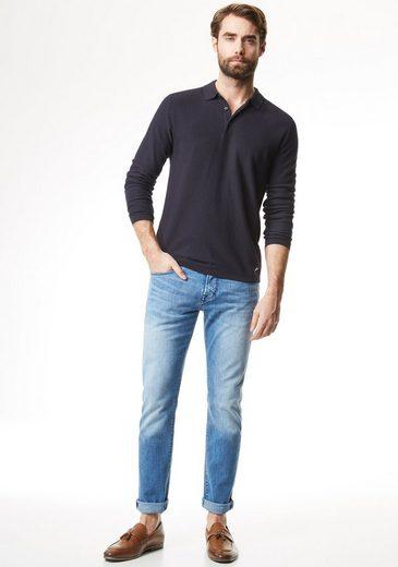 Mit Feinstrick Fit Modern Pullover Pierre Polokragen Cardin t65qvnwx