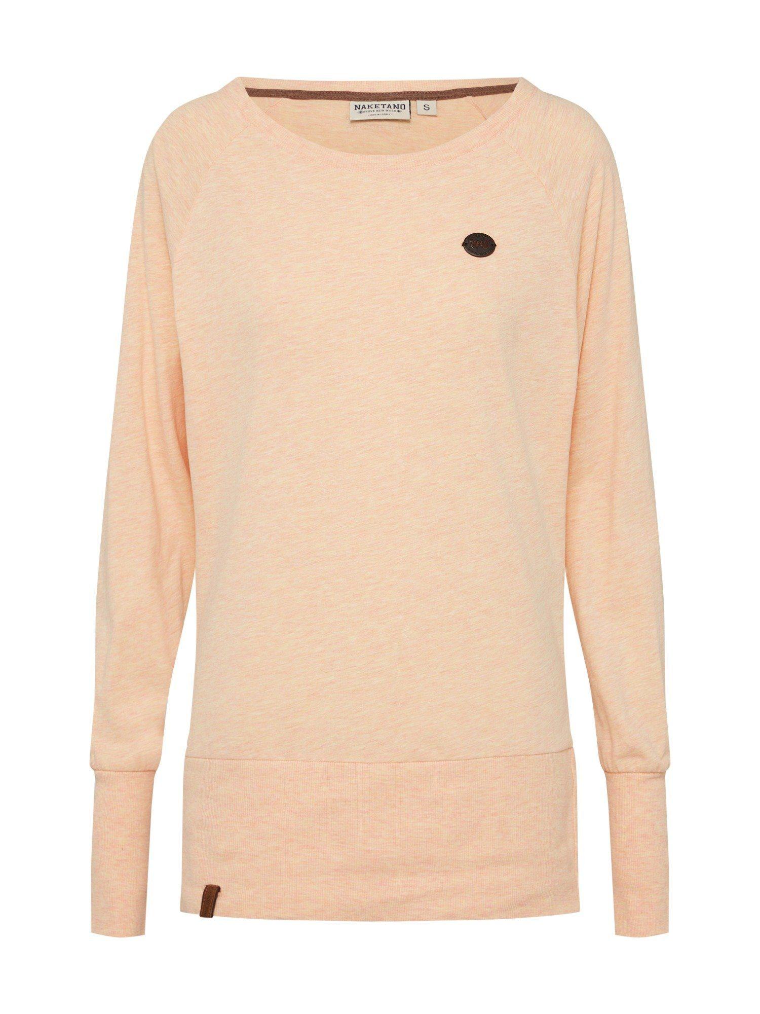 naketano Sweater »Groupie«, Sweatshirt mit langen Rippen online kaufen | OTTO