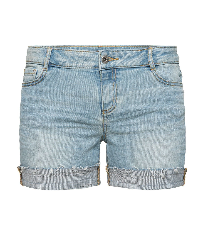SOCCX Shorts mit Krempelsaum