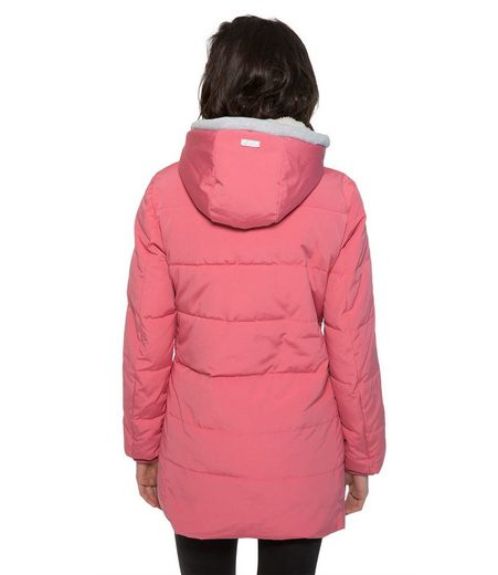Rosa futter fur Soccx Wintermantel Fake Mit Y29DHIEW