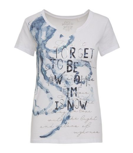 SOCCX T-Shirt mit offenen Kanten