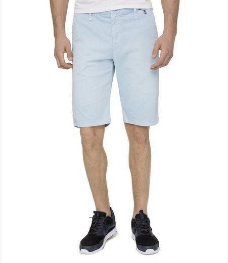 CAMP DAVID Shorts mit filigranem Printmuster