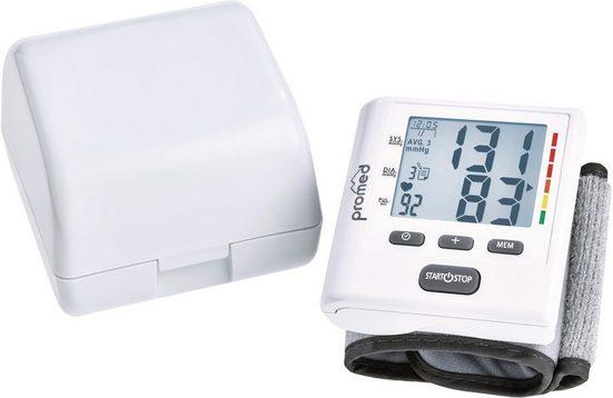 promed Handgelenk-Blutdruckmessgerät HGP-50, je 40 Speicherplätze für 3 Benutzer
