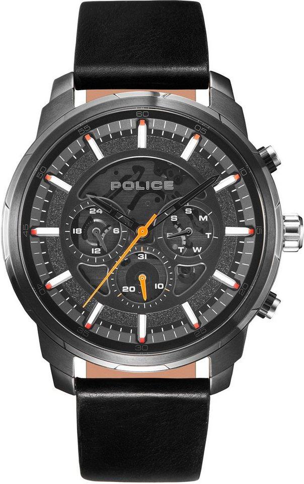 Police Multifunktionsuhr »MOHER, PL15656JSU.02«   Uhren > Multifunktionsuhren   Schwarz   Police