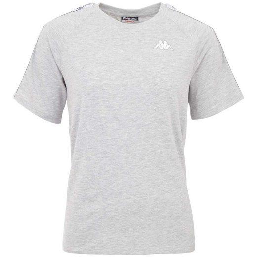 Kappa T-Shirt »VICKY« mit Logoband an den Ärmeln