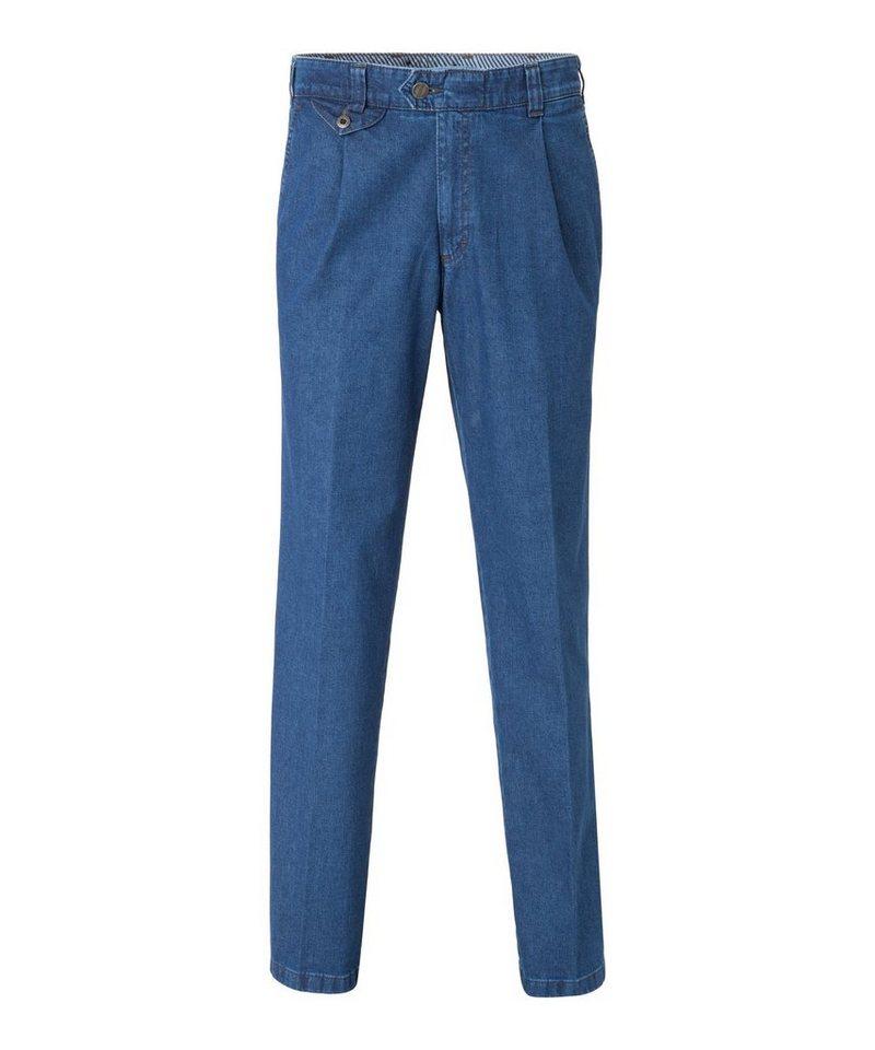 Herren EUREX by BRAX Bequeme Jeans »Style Fred 321« blau  Herren-Jeans