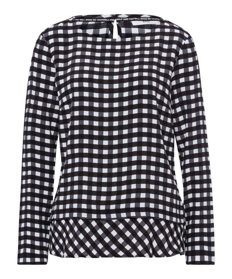 Brax Klassische Bluse »Style Vaida« | Bekleidung > Blusen > Klassische Blusen | Schwarz | Viskose - Jeans | Brax