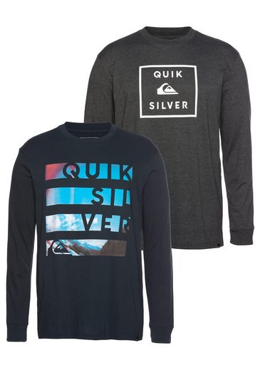 Quiksilver Longsleeve »STACK CLIPSTER RETHIN PACK« (Packung, 2-tlg., 2er-Pack)