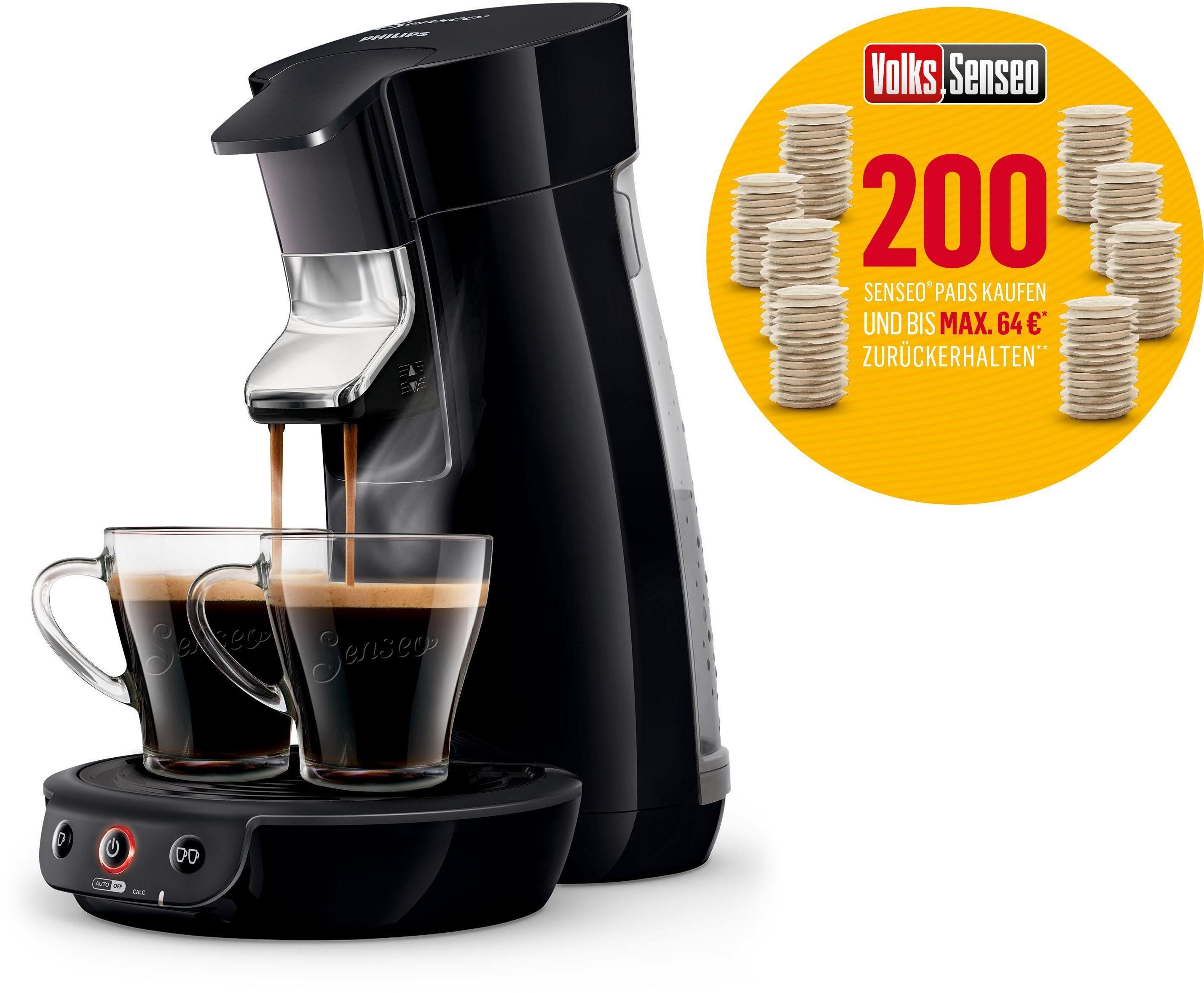 Senseo Kaffeepadmaschine HD6561/69 Viva Café Volks-Senseo