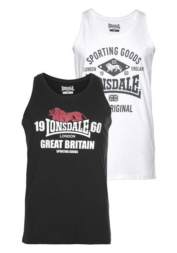 Lonsdale Tanktop (Packung, 2er-Pack)