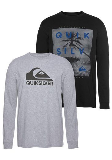 Quiksilver Longsleeve »OUTER M&W RETHIN PACK« (Packung, 2-tlg., 2er-Pack)