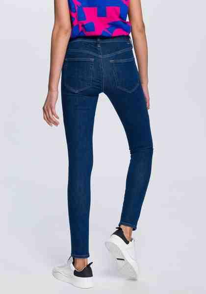 Diesel Skinny-fit-Jeans »SLANDY« mit stilechten Markendetails