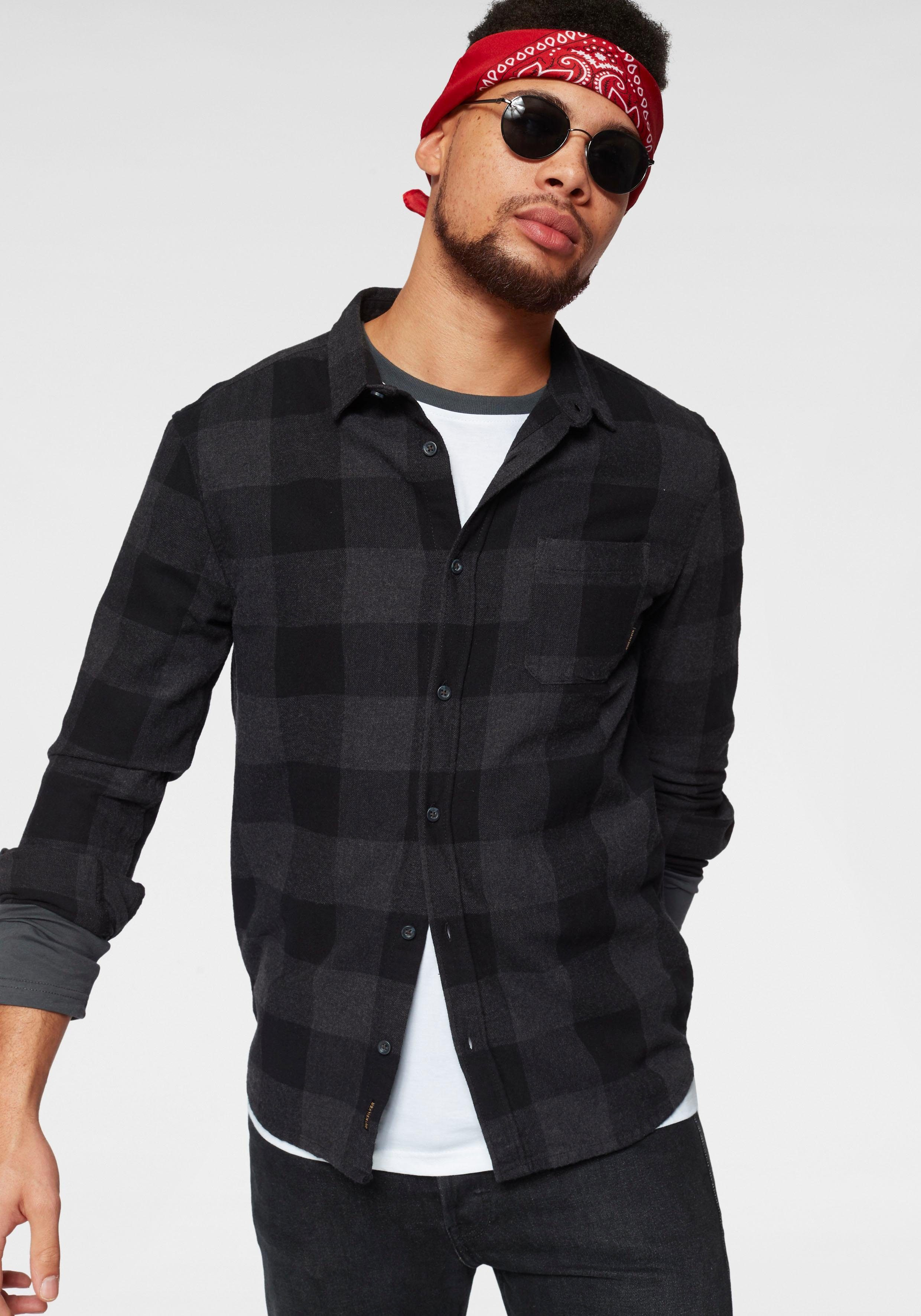 Flanellhemd Flannel« Quiksilver Kaufen »mother Fly TlKFc1J