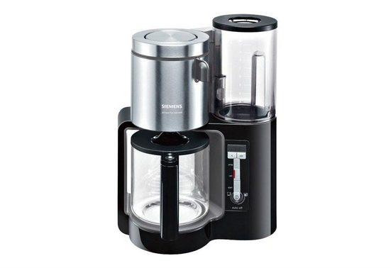 SIEMENS Filterkaffeemaschine Sensor for Senses TC86303, 1,25l Kaffeekanne, Papierfilter 1x4, Wassertank mit Griff