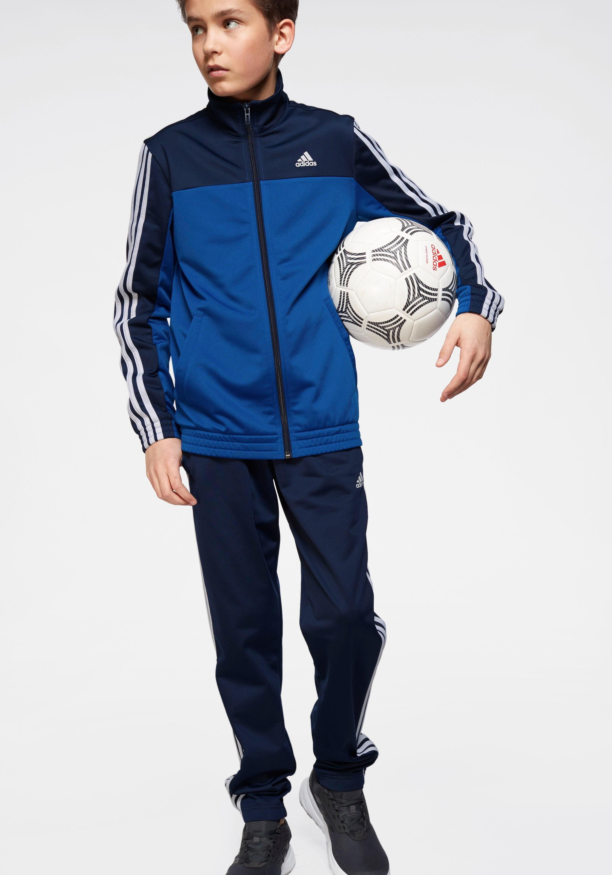adidas Performance Trainingsanzug »BOYS POLYESTER 3 STRIPES TRACKSUIT« online kaufen | OTTO