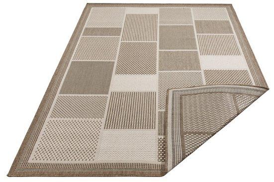 Outdoorteppich »Tudor«, Home affaire, rechteckig, Höhe 5 mm, Sisaloptik, beiseitig verwendbar