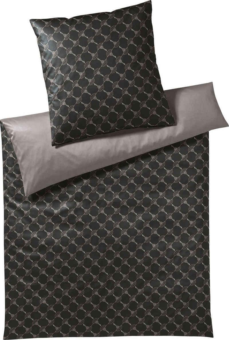 Bettwäsche »JOOP! CORNFLOWER DOUBLE«, Joop!, mit elegantem Kornblumen-Muster