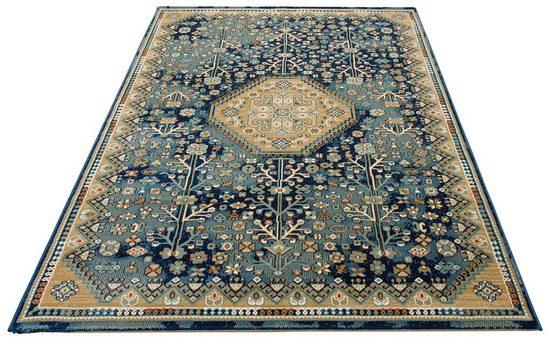Teppich »Amelia«, DELAVITA, rechteckig, Höhe 10 mm, Orient-Optik