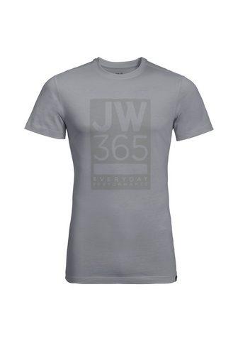 JACK WOLFSKIN Marškinėliai »365 T M«