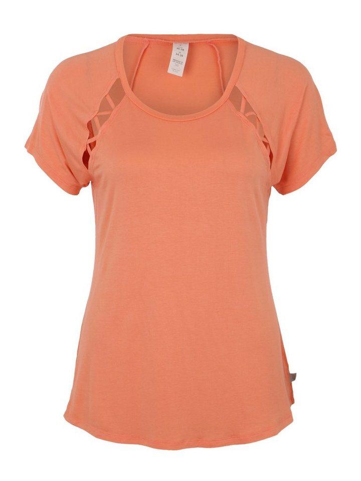 Marika Yogashirt »ZILLA« Lochmuster | Sportbekleidung > Sportshirts > Yogashirts | Orange | Marika