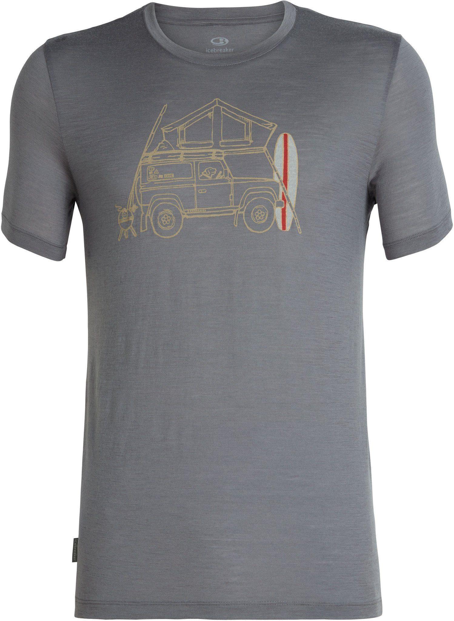 Icebreaker T-Shirt »Tech Lite Surfspot Camper SS Crewe Shirt Men«
