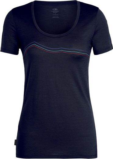 Icebreaker T-Shirt »Tech Lite Rangitoto Triple SS Scoop Shirt Women«