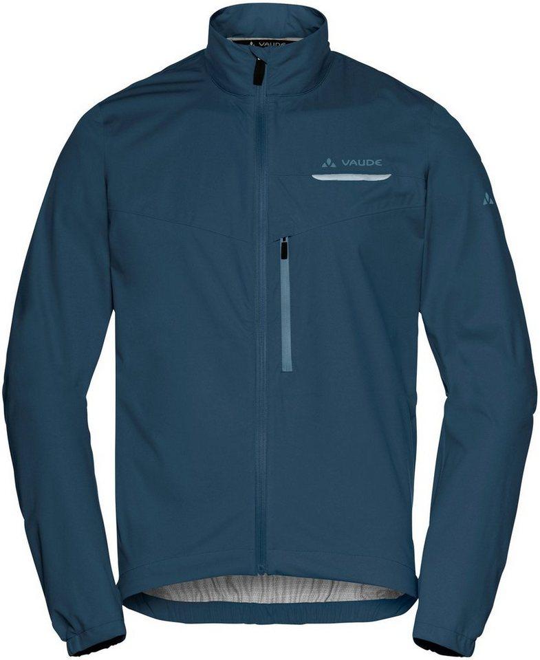 VAUDE Regenjacke »Strone Jacket Men« | Sportbekleidung > Sportjacken > Regenjacken | Blau | VAUDE