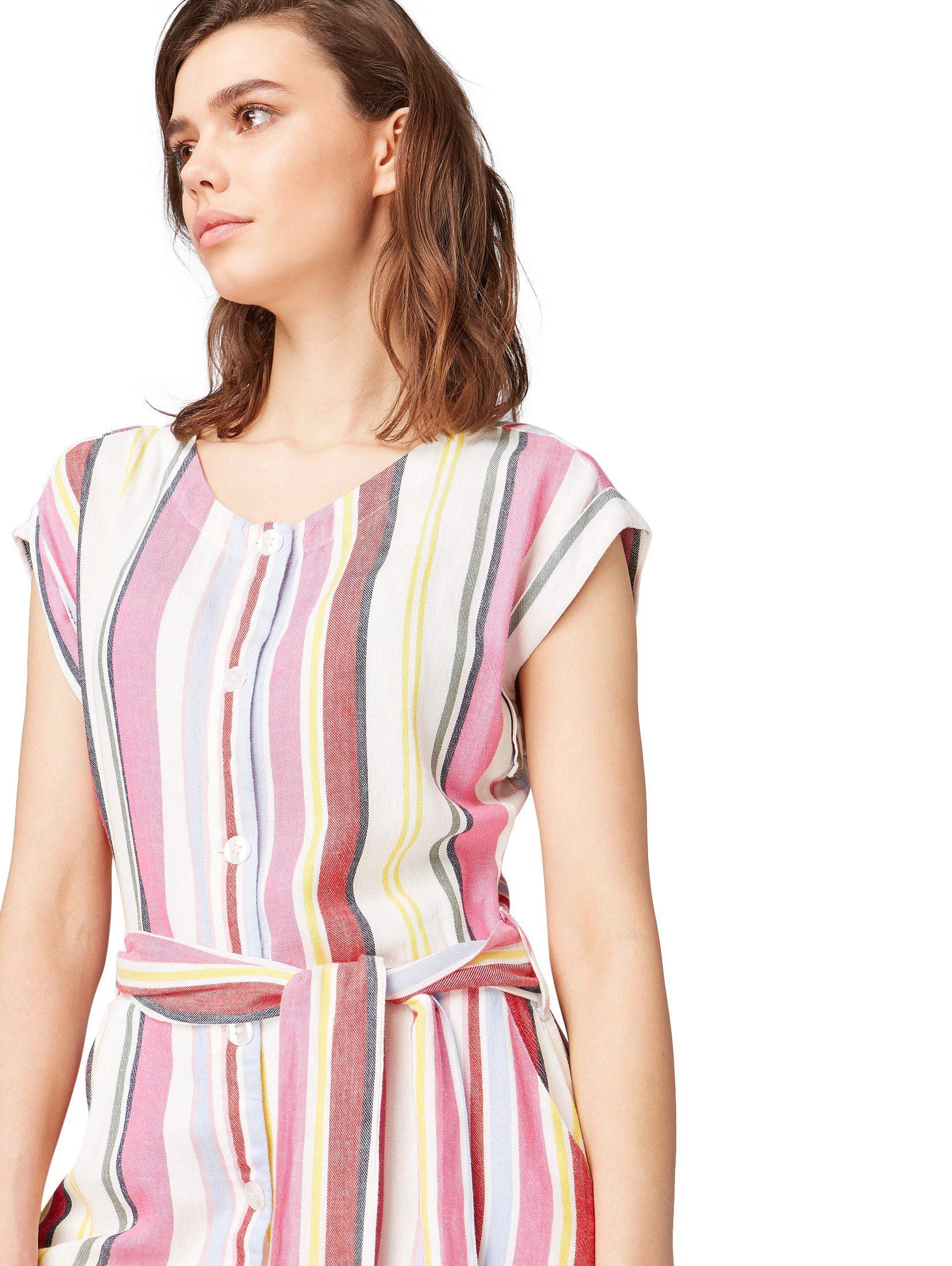 Tom Tailor Sommerkleid Online Kleid Stoffgürtel« »gestreiftes Mit Kaufen 8OPkn0w