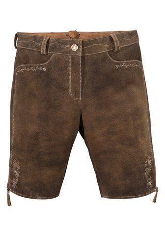 Spieth & Wensky брюки кожаные из н...