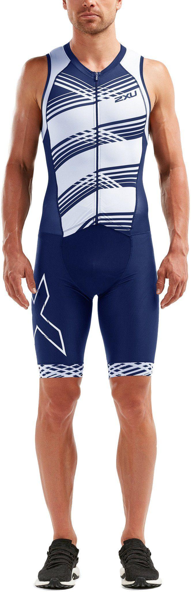 2xU Triathlonbekleidung »Compression Full Zip Trisuit Men«