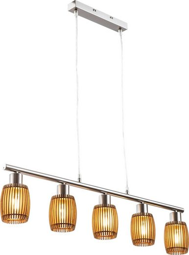 Nino Leuchten LED Pendelleuchte »PARKEY«, 5-flammig