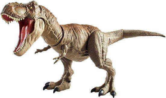 Mattel® Spielfigur »Jurassic World Dino Rivals Superbiss-Kampfaction Tyrannosaurus Rex«