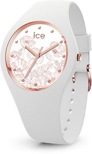 ice-watch Quarzuhr »ICE flower - Spring white - Small - 3H, 16662«