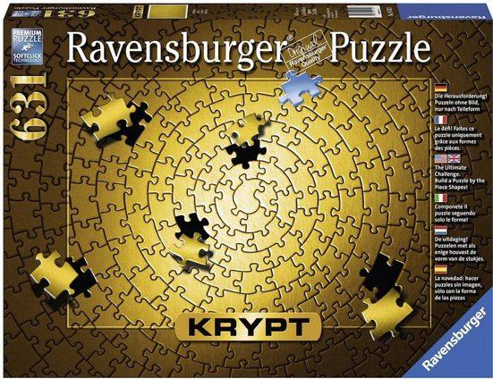 Ravensburger Puzzle »Krypt Gold«, 631 Teilig, Softclick Technology