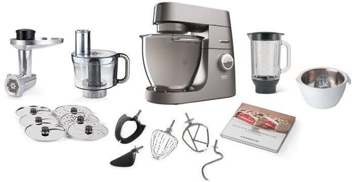 Kenwood Kuchenmaschine Chef Xl Titanium Kvl8460s 1700 W 6 7 L Schussel Online Kaufen Otto