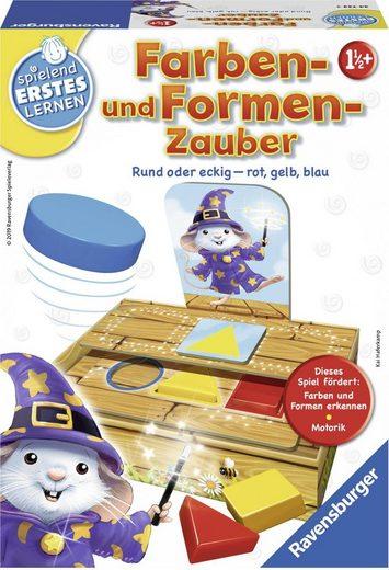 Ravensburger Spiel, »Farben- und Formen-Zauber«, Made in Europe, FSC® - schützt Wald - weltweit