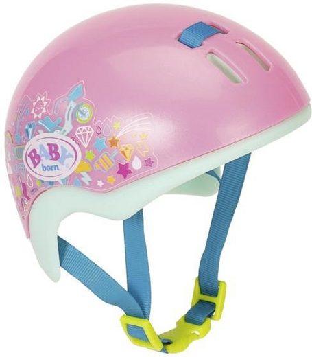 Baby Born Puppen Helm »Play & Fun Fahrradhelm«