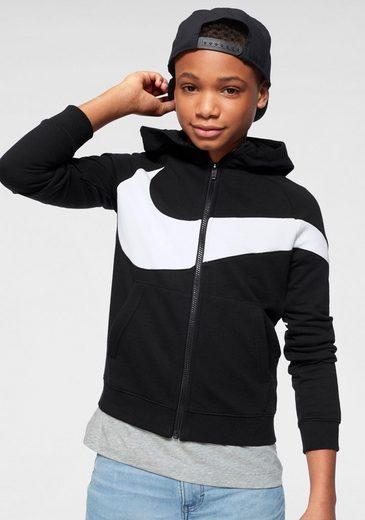Nike Sportswear Kapuzensweatjacke »BOYS NIKE SPORTSWEWAR HOODIE FULLZIP«