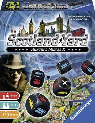 Ravensburger Spiel, »Scotland Yard - Das Würfelspiel«, Made in Europe, FSC® - schützt Wald - weltweit