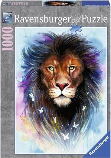 Ravensburger Puzzle »Majestätischer Löwe«, 1000 Puzzleteile