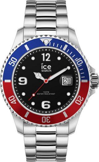 ice-watch Quarzuhr »ICE steel - United Silver - Medium - 3H, 16545«