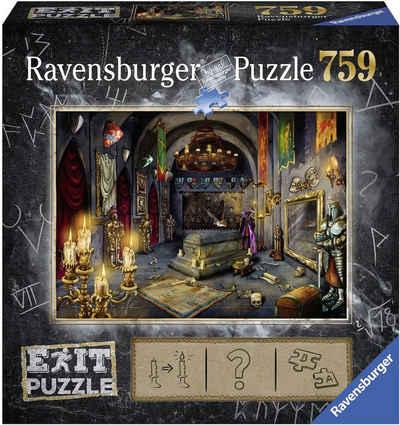 Ravensburger Puzzle »Puzzle Exit 6: Im Vampirschloss«, 759 Puzzleteile, Made in Germany, FSC® - schützt Wald - weltweit