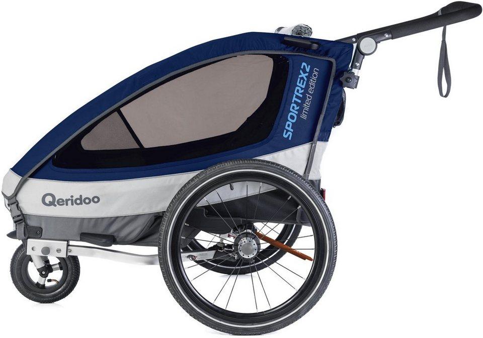 qeridoo fahrradkinderanh nger sportrex 2 geeignet f r. Black Bedroom Furniture Sets. Home Design Ideas