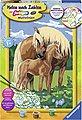 Ravensburger Malen nach Zahlen »Liebevolle Pferde«, Made in Europe, FSC® - schützt Wald - weltweit, Bild 1