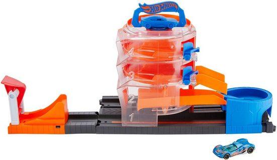 Hot Wheels Spiel-Parkhaus »Super-Spin-Parkhaus mit Spielzeugauto«