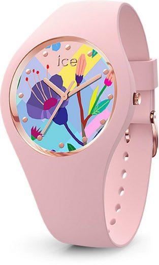 ice-watch Quarzuhr »ICE flower - Pink garden - Small - 3H, 16654«
