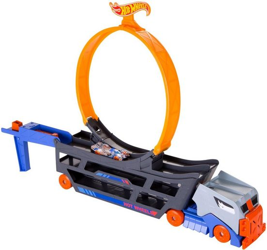 Hot Wheels Spielzeug-Transporter »Stunt 'n Go Transporter & Trackset«